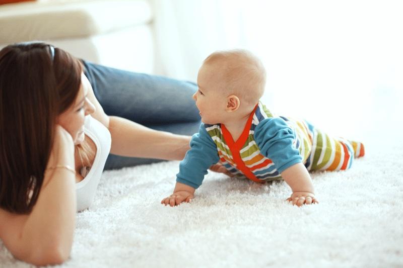 Varno čiščenje preprog za vašo družino
