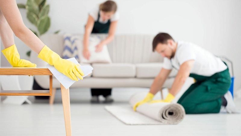 Storitve vključene v generalno čiščenje stanovanja
