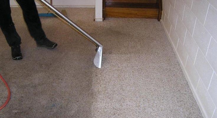 Globinsko čiščenje umazane preproge