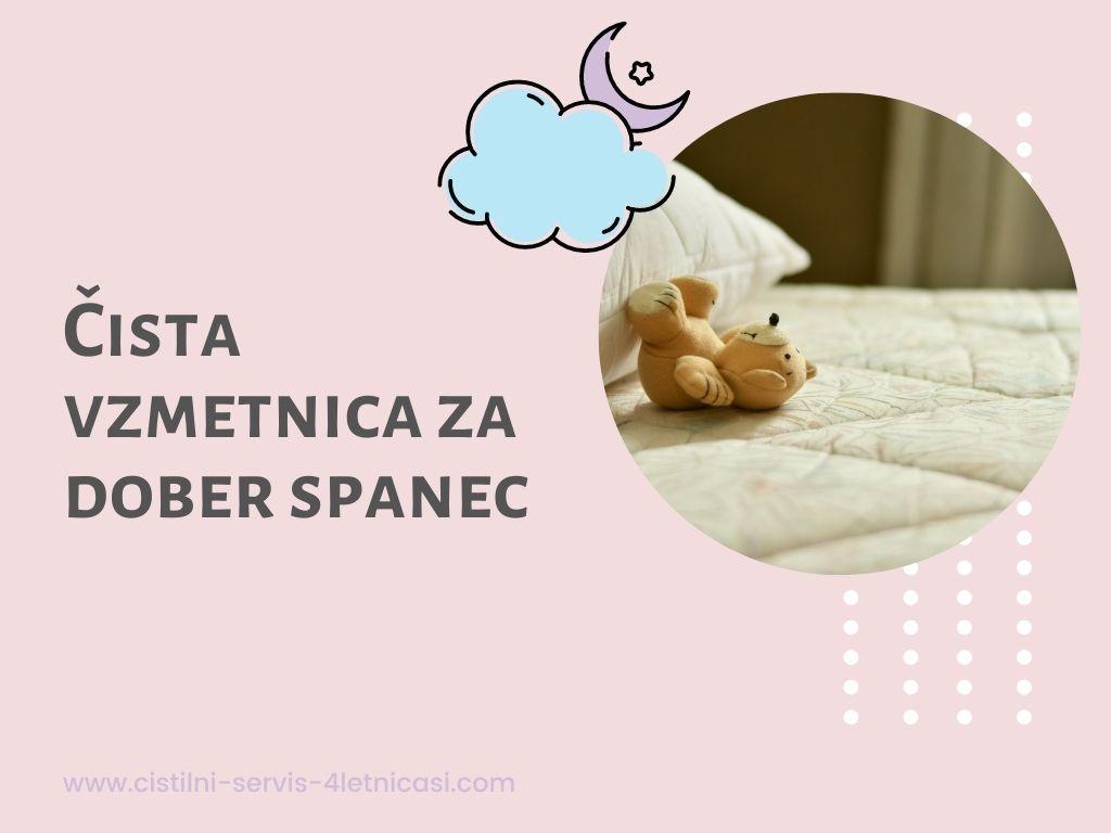 Globinsko čiščenje vzmetnic za dober spanec